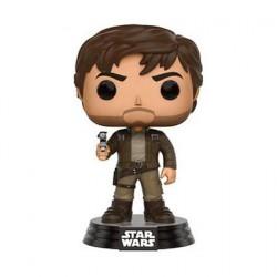 Pop! Star Wars Rogue One Captain Cassian Andor Brown Jacket Edition Limitée