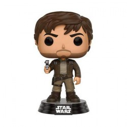Pop! Star Wars Rogue One Captain Cassian Brown Jacket Edition Limitée