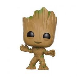 Figurine Pop! Marvel Guardians of The Galaxy 2 Young Groot Funko Boutique en Ligne Suisse