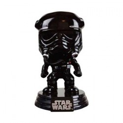 Figurine Pop! Star Wars Tie Fighter Pilot Black Chrome Edition Limitée Funko Boutique en Ligne Suisse