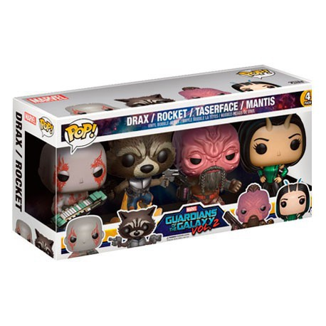 Figur Pop! Marvel Guardians of the Galaxy 2 4-Pack 1 Funko Online Shop Switzerland