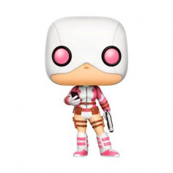 Pop! Marvel Gwenpool With Gun And Phone Limited Edition