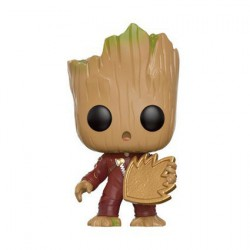 Figuren Pop! Marvel Guardians of The Galaxy 2 Young Groot with Shield Limited Edition Funko Online Shop Schweiz