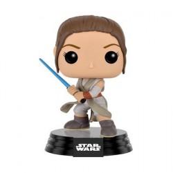 Figur Pop! Star Wars The Force Awakens Rey Battle Pose (Vaulted) Funko Online Shop Switzerland