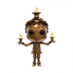 Pop! Disney Beauty and the Beast Live Action Lumière