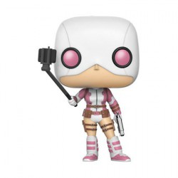 Pop! SDCC 2017 Marvel Gwenpool with Selfie Stick Limited Edition
