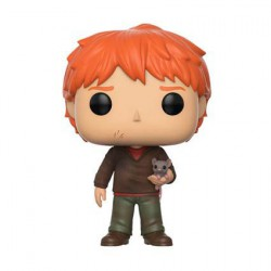 Figur Pop! Harry Potter Ron Weasley with Scabbers Funko Online Shop Switzerland