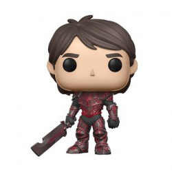 Pop! NYCC 2017 Trollhunters Jim Red Armor Limited Edition