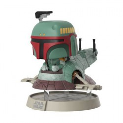 Figur Pop! 15 cm NYCC 2017 Star Wars Boba Fett with Slave Limited Edition Funko Online Shop Switzerland