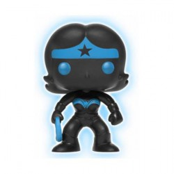 Pop! DC Justice League Wonder Woman Silhouette Glow in the Dark Limited Edition