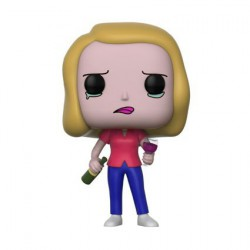 Figur Pop! Cartoons Rick and Morty Beth with Wine Glass Funko Online Shop Switzerland