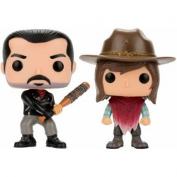 Pop! The Walking Dead Negan and Carl Limited Edition