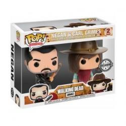 Figurine Pop! The Walking Dead Negan et Carl Edition Limitée Funko Boutique en Ligne Suisse