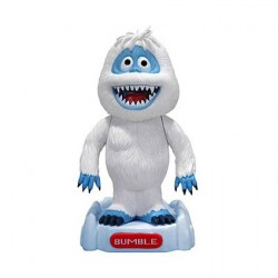 Rudolph the Red-Nosed Reindeer Snowman Bumble Bobble Head