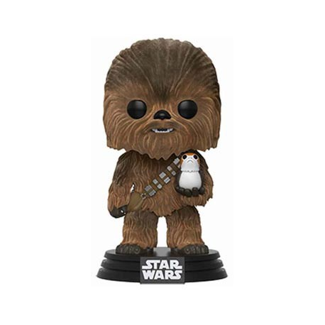 Figur Pop! Star Wars Flocked Chewbacca with Porg Limited Edition Funko Online Shop Switzerland