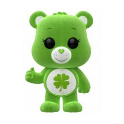 Pop! ECCC 2018 Care Bears Good Luck Bear Floqued Limited Edition