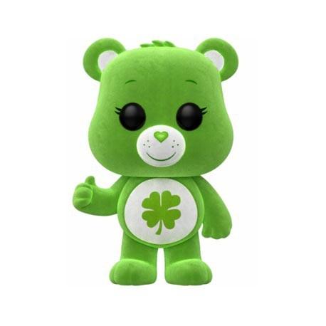 Figur Pop! ECCC 2018 Care Bears Good Luck Bear Floqued Limited Edition Funko Online Shop Switzerland