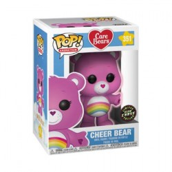 Figur Pop! Cartoons Care Bears Cheer Bear Limited Chase Edition Glow in the Dark Funko Online Shop Switzerland