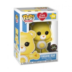 Figur Pop! Cartoons Care Bears Funshine Bear Limited Chase Edition Glow in the Dark Funko Online Shop Switzerland