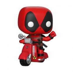 Figurine Pop! Rides Marvel Deadpool sur Scooter (Rare) Funko Boutique en Ligne Suisse