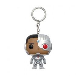 Figurine Pop! Pocket Keychains Justice League Cyborg Funko Boutique en Ligne Suisse