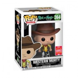 Pop! SDCC 2018 Rick and Morty Western Morty Limited Edition