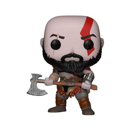 Figurine Pop! Games God of War Kratos (Rare) Funko Boutique en Ligne Suisse