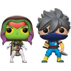 Figur Pop! Marvel Gamora vs Capcom Strider 2-Pack Limited Edition Funko Online Shop Switzerland