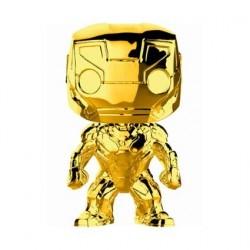 Figurine Pop! Marvel Studios 10 Anniversary Iron Man Chrome Edition Limitée Funko Boutique en Ligne Suisse