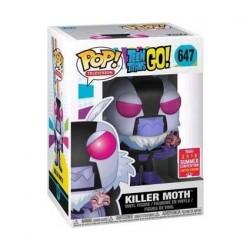 Figurine Pop! SDCC 2018 Teen Titans Go! Killer Moth Edition Limitée Funko Boutique en Ligne Suisse