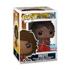 Figur Pop! NYCC 2018 Marvel Black Panther Okoye in Red Dress Limited Edition Funko Online Shop Switzerland