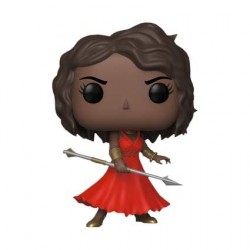 Pop! NYCC 2018 Marvel Black Panther Okoye in Red Dress Limited Edition
