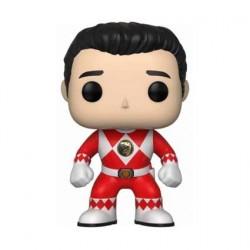 Figurine Pop! TV Power Rangers Red Ranger Jason sans Casque Funko Boutique en Ligne Suisse