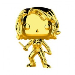 Figurine Pop! Marvel Studios 10 Anniversary Black Widow Chrome Edition Limitée Funko Boutique en Ligne Suisse