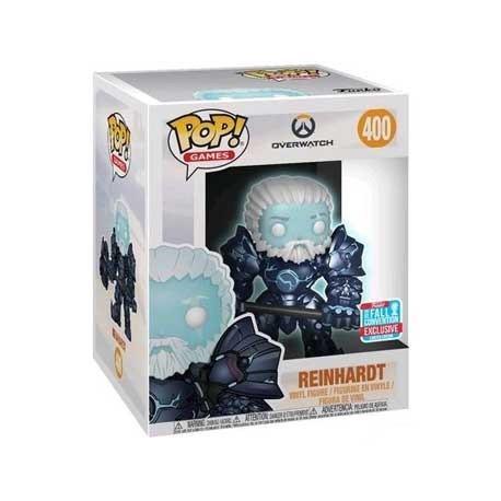Figur Pop! NYCC 2018 15 cm Glow in the Dark Overwatch Unmasked Reinhardt Coldhardt Limited Edition Funko Online Shop Switzerland