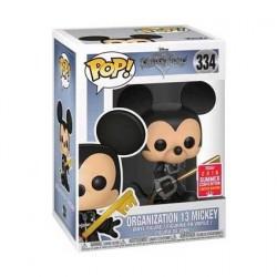Figurine Pop! SDCC 2018 Kingdom Hearts Mickey Organisation 13 Unhooded Edition Limitée Funko Boutique en Ligne Suisse