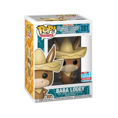 Figur Pop! NYCC 2018 Baba Looey Quick Draw McGraw Limited Edition Funko Online Shop Switzerland