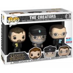 Figurine Pop! NYCC 2018 Game of Thrones 3-Pack Show Creators Edition Limitée Funko Boutique en Ligne Suisse