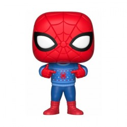 Figur Pop! Marvel Holiday Spider-Man with Ugly Sweater Funko Online Shop Switzerland