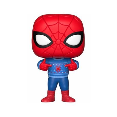 Figur Pop! Marvel Holiday Spider-Man with Ugly Sweater Funko Online Shop Switzerland