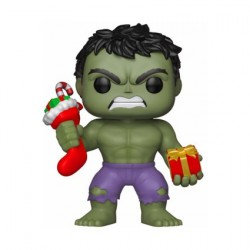 Figur Pop! Marvel Holiday Hulk with Stocking and Plush Funko Online Shop Switzerland