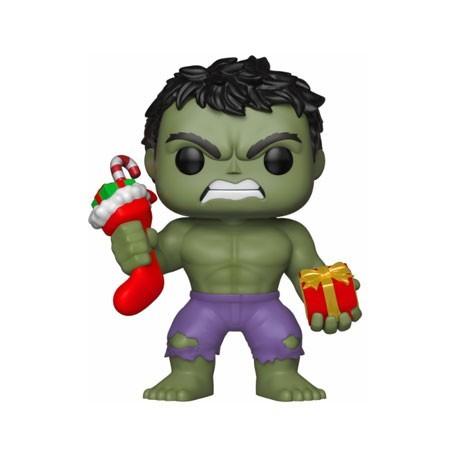 Figur Pop! Marvel Holiday Hulk with Stocking and Plush Funko Online Shop Switzerland