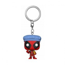 Figurine Pop! Pocket Keychains Marvel Deadpool Bathtime Funko Boutique en Ligne Suisse