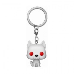 Figurine Pop! Pocket Porte Clés Game of Thrones Ghost Funko Boutique en Ligne Suisse