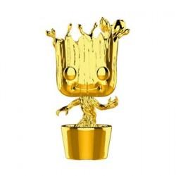 Figurine Pop! Marvel Studios 10 Anniversary Les Gardiens de la Galaxie Dancing Groot Chrome Edition Limitée Funko Boutique en...