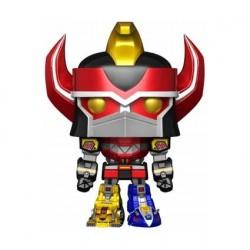 Figurine Pop! 15 cm Métallique Power Rangers Megazord Edition Limitée Funko Boutique en Ligne Suisse