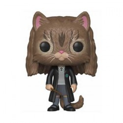 Figurine Pop! Harry Potter Hermione en Chat Funko Boutique en Ligne Suisse