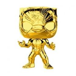 Figurine Pop! Marvel Studios 10 Anniversary Black Panther Chrome Edition Limitée Funko Boutique en Ligne Suisse
