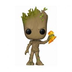 Figurine Pop! Marvel Infinity War Groot avec Stormbreaker Funko Boutique en Ligne Suisse