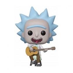 Figurine Pop! Rick & Morty Tiny Rick avec Guitare Edition Limitée Funko Boutique en Ligne Suisse